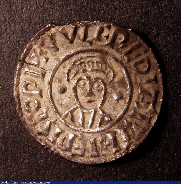 Penny Anglo-Saxon. Wulfred Archbishop of Canterbury silver group ...