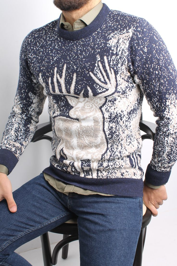 Pin by 10&AY on Erkek giyim Men sweater, Fashion, Mens