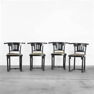 MARCEL KAMMERER, chairs model 763 (Thonet Austria, c. 1909)