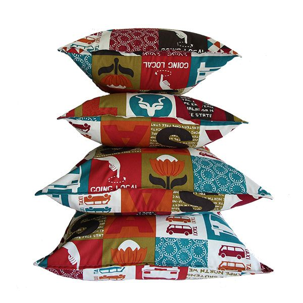 Love RSA scatter cushions in 50 x 50 cm and 60 x 60 cm from Ruby & Me