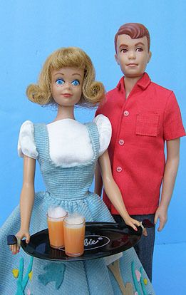 Vintage 1963 Midge Barbie Doll in Friday Night Date Alan Doll Clothing Lot | eBay