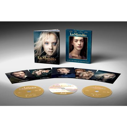Les Miserables Deluxe Version (Blu-ray/DVD/Digital Copy/Ultraviolet) - Only at Target