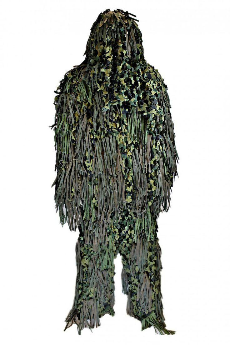 CamoNettingStore.com - Jackal 3D Sniper Suit, $99.99 (http://www.camonettingstore.com/ghillie-suits/jackal-3d-sniper-suit/)