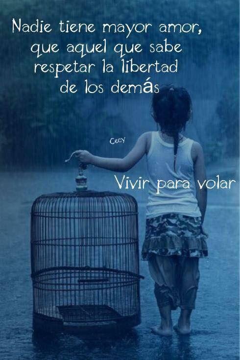 Nadie tiene mayor amor que aquel que sabe respetar...