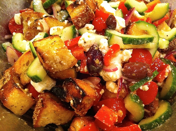 25+ best panzanella recipe ideas on pinterest | what vegetables