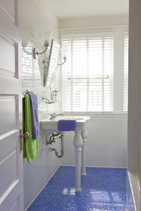Blue Bathroom With Tile Floor: 119 Best Images About Periwinkle Blue Decor On Pinterest