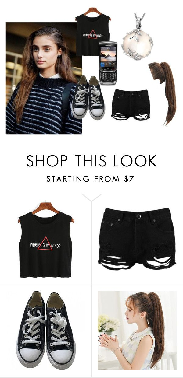 """Vanessa Young #5"" by sophie-l-marshall ❤ liked on Polyvore featuring Boohoo, Converse, CO and Mother of Pearl"