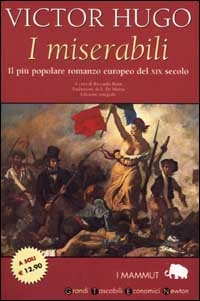 """The Miserables"" by Victor Hugo, Italian edition."