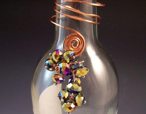 Wine Bottle Charms/Wine Bottle/Wine Bottle Decor/Hostess Gift