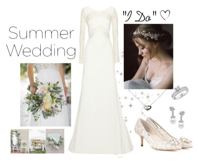 """Say ""I Do"" *3"" by kryssicha on Polyvore featuring Cartier, Rime Arodaky, Dolce&Gabbana and Annello"