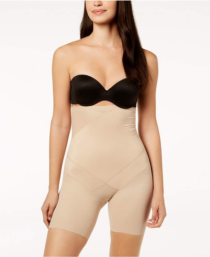 5753f613e5357 Miraclesuit Instant Tummy Tuck High-Waist Thighslimmer 2419 #Tummy#Tuck #Miraclesuit