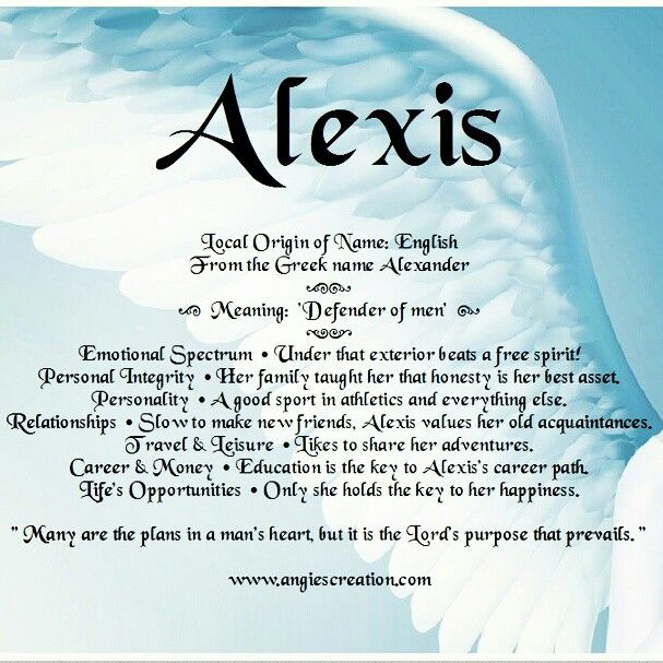 Alexis meaning