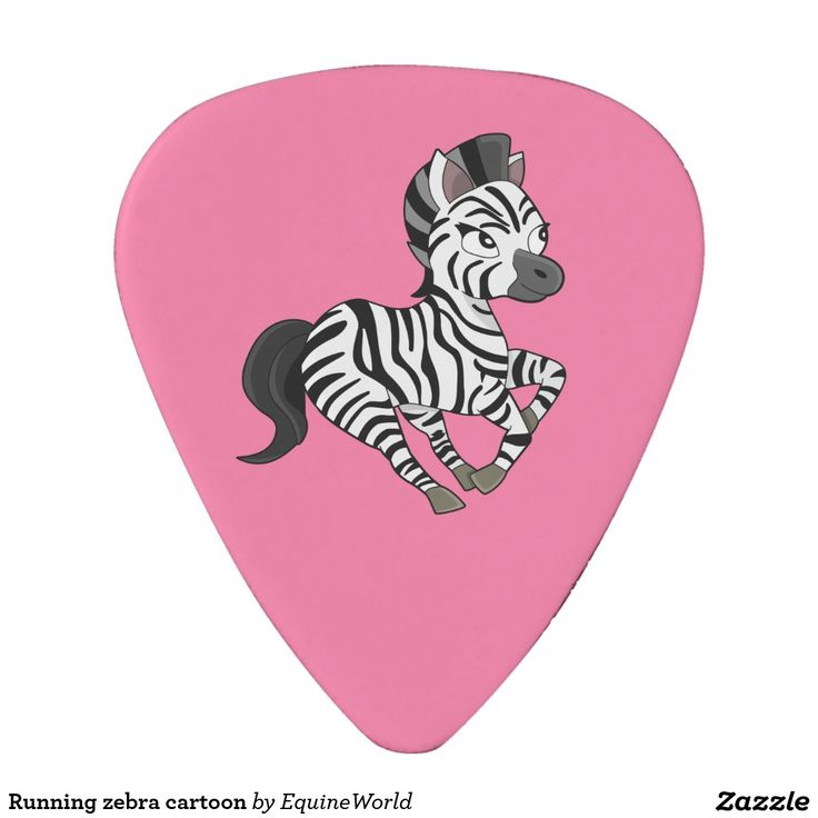 Running zebra cartoon pick