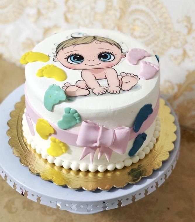 كيك بى بى شاور Cake Desserts Birthday Cake