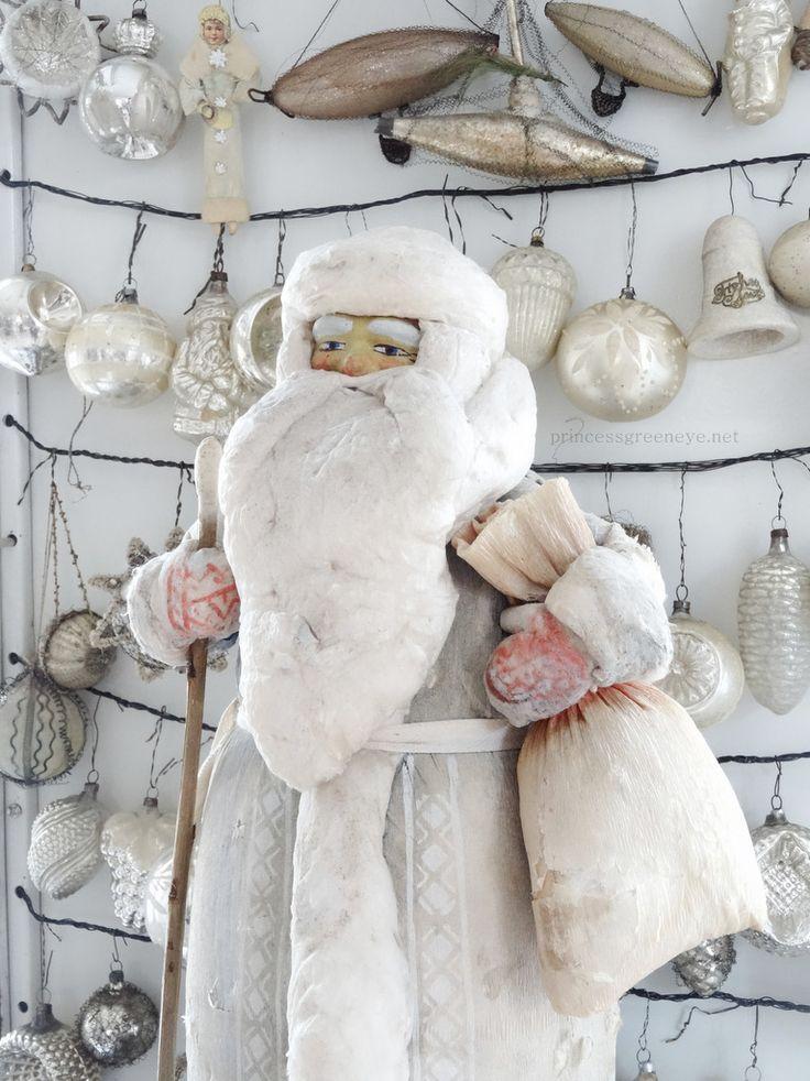 Die besten 25 nostalgische weihnachtsdeko ideen auf for Nostalgische weihnachtskugeln