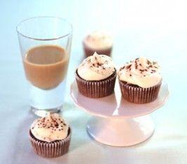 Baileys & Chocolate Mini Cupcakes