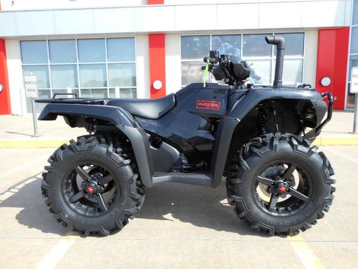 New 2015 Honda Trx500 Foreman 4wd Quot Black Ops Edition Quot Atv