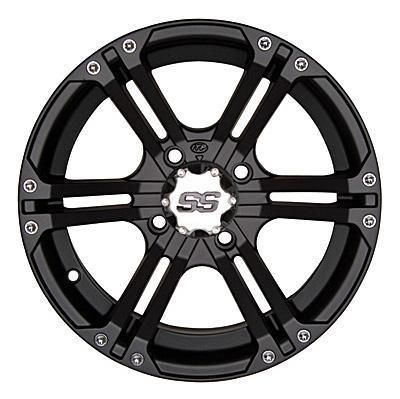 ITP ITP SS212 12x7 Wheel with 4 on 137 Bolt Pattern (Black) - 12SS406 12SS406 ITP ATV Wheels: SS212… #AutoParts #CarParts #Cars #Automobiles