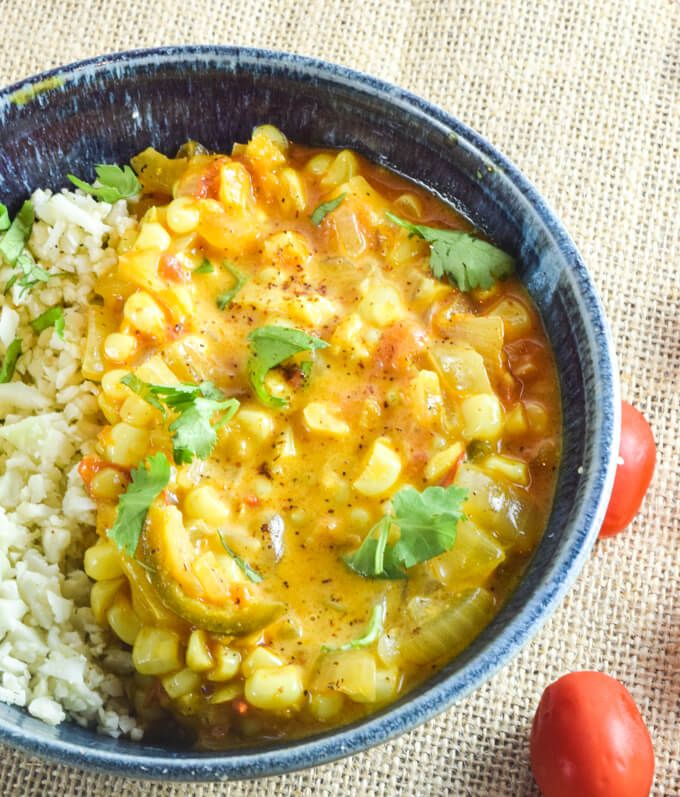 21 Light Vegan Summer Dinner Recipes For Hot Days Curry