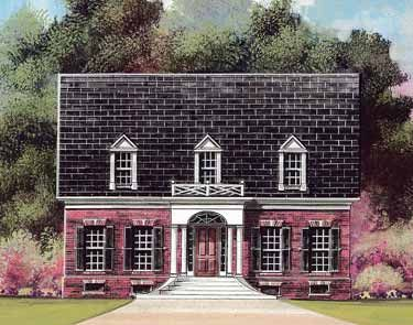 Stately symmetrical and limitless hwbdo10885 adam for Symmetrical house plans