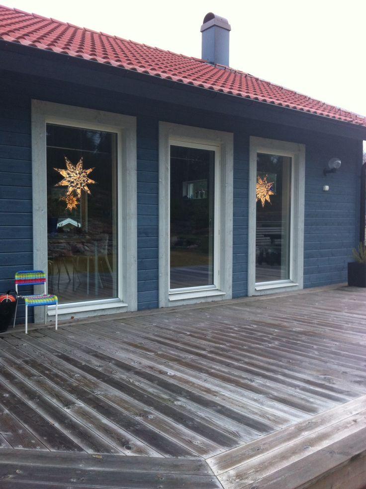 #house #star #light #december #advent #designmaria