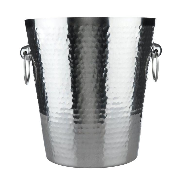 Viski Admiral Hammered Ice Bucket - 2665