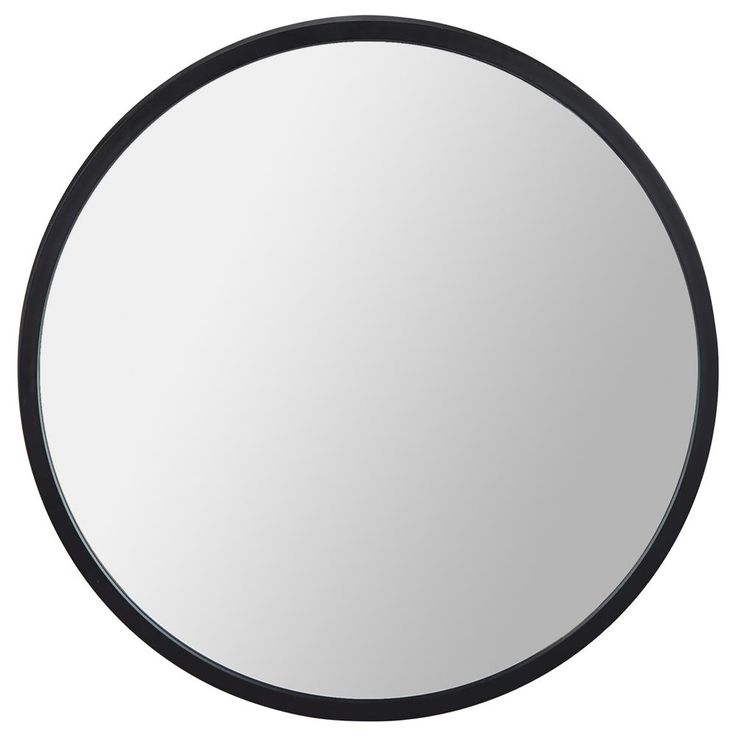 Black Framed Round Mirror/Mirrors/Wall Decor Bouclair.com