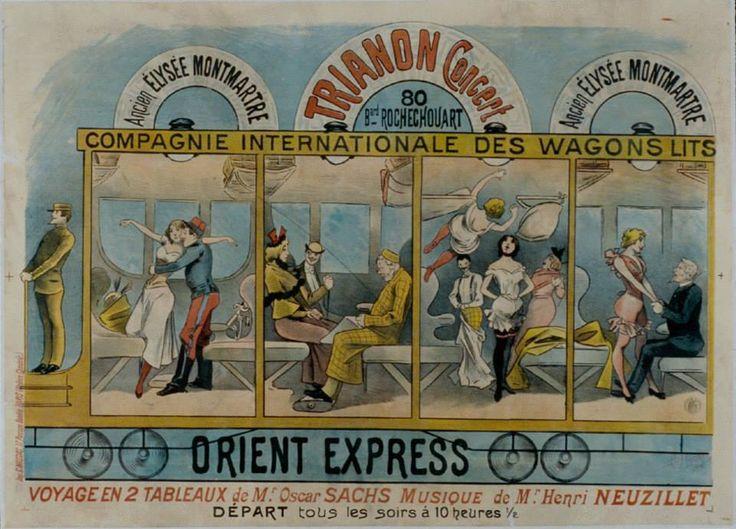 Ancien elys e montmartre trianon concert compagnie - Compagnie des wagons lits recrutement ...