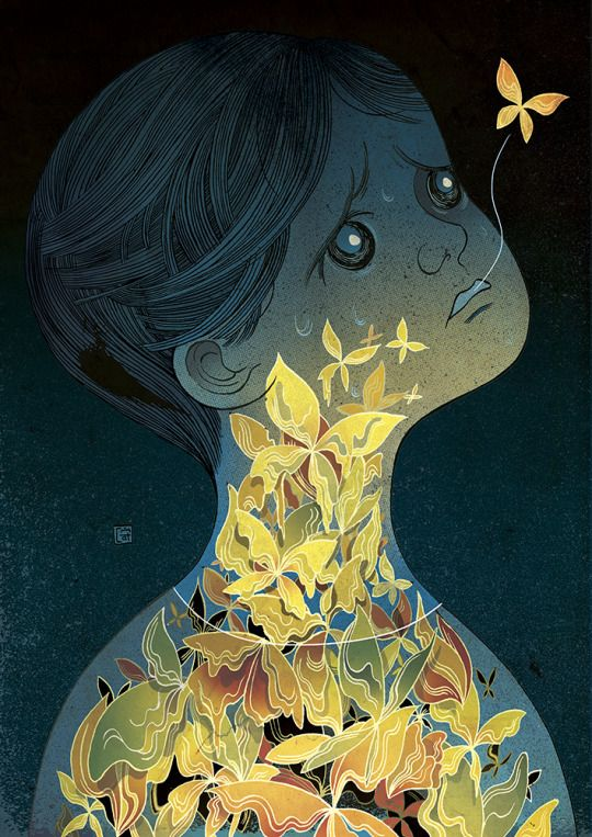 Anxiety and Mourning Victo Ngai
