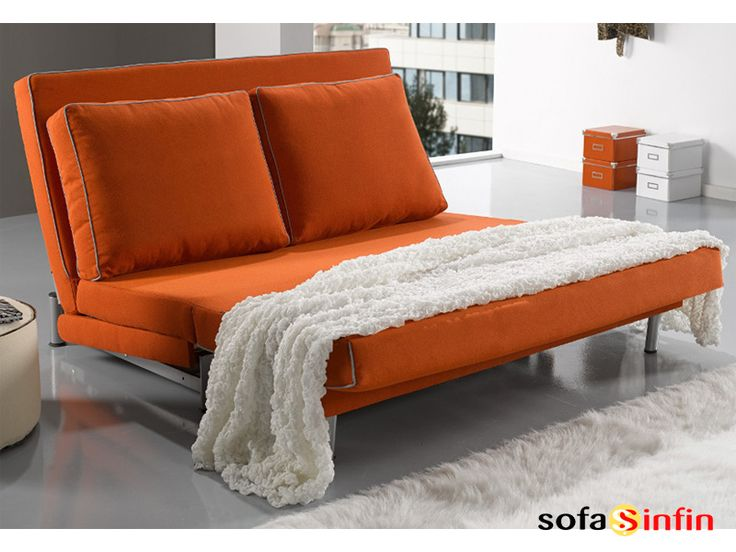 Sof cama libro modelo bora fabricado por for Colchon sofa cama libro