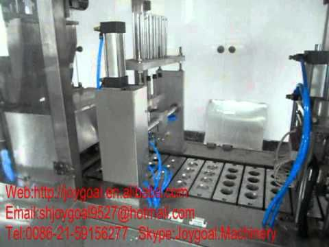 [Joygaol Machinery] Nespresso coffee capsule filling and sealing machine.