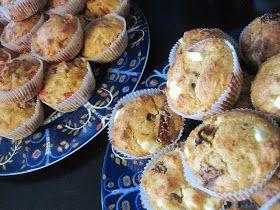 Pienin askelin elämään: Toiveresepti: suolaiset muffinssit