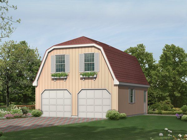 Garage With Apartment Upstairs Plans Two Car Garage