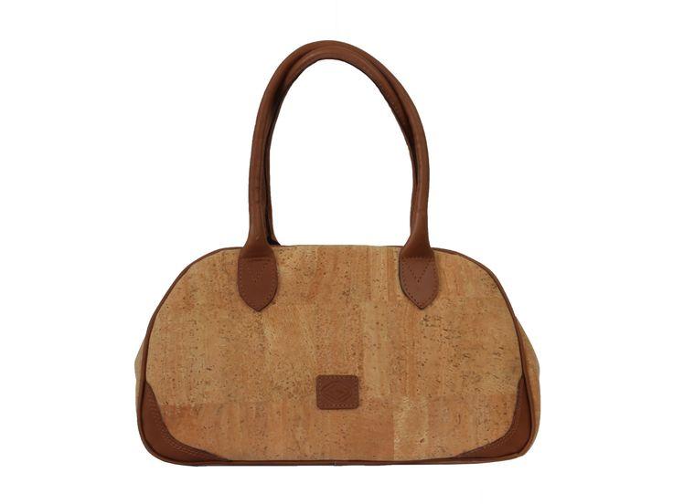 Handbag Ruth | Leather strap | Zip-top closure