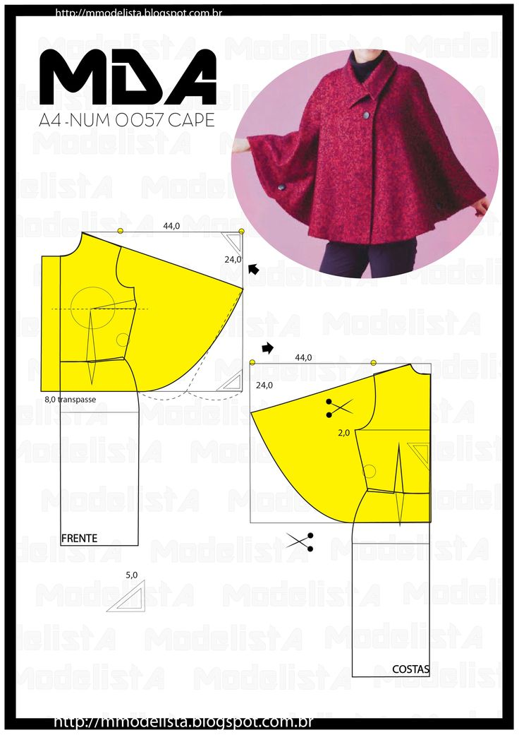 quinta-feira, 16 de abril de 2015 A4 NUM 0057 CAPE You can not deny that the covers, shawls and ponchos as Blanket will be the hit's the coldest season of the year. They are cuddly, warm and beautiful and all this has everything to charm the ladies this winter 2015.Com them you can compose looks for day-to-day work, for tours and even a night out. And the novelty of the covers as blazer is really cool, because they leave arms free and are stylish for work.