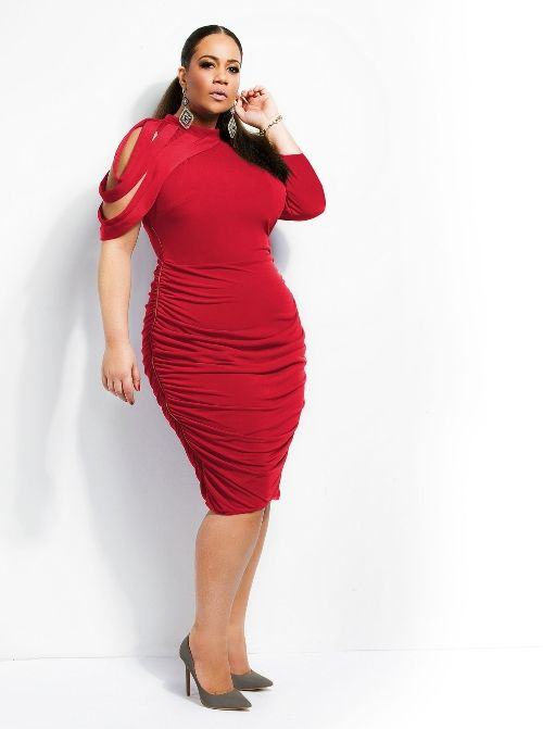 Nikki Little Red Dress By Monif C This Is One Of The Top Recommendations For All Plus Size Women Out There You Can Make A Style Statement Your