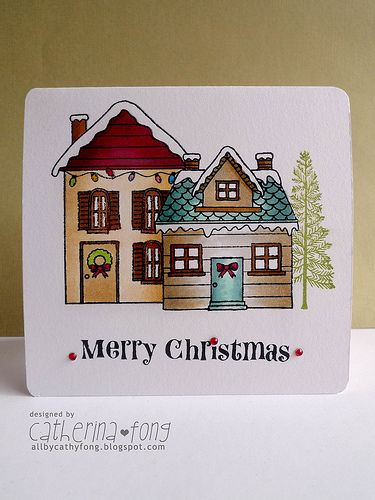 fong crafty place: Start to make holiday cards and please support Card Drive for Kids