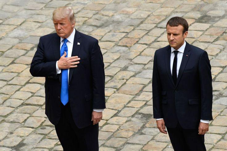 Le président américain et son épouse sont à Paris jeudi et vendredi à l'invitation d'Emmanuel Macron.