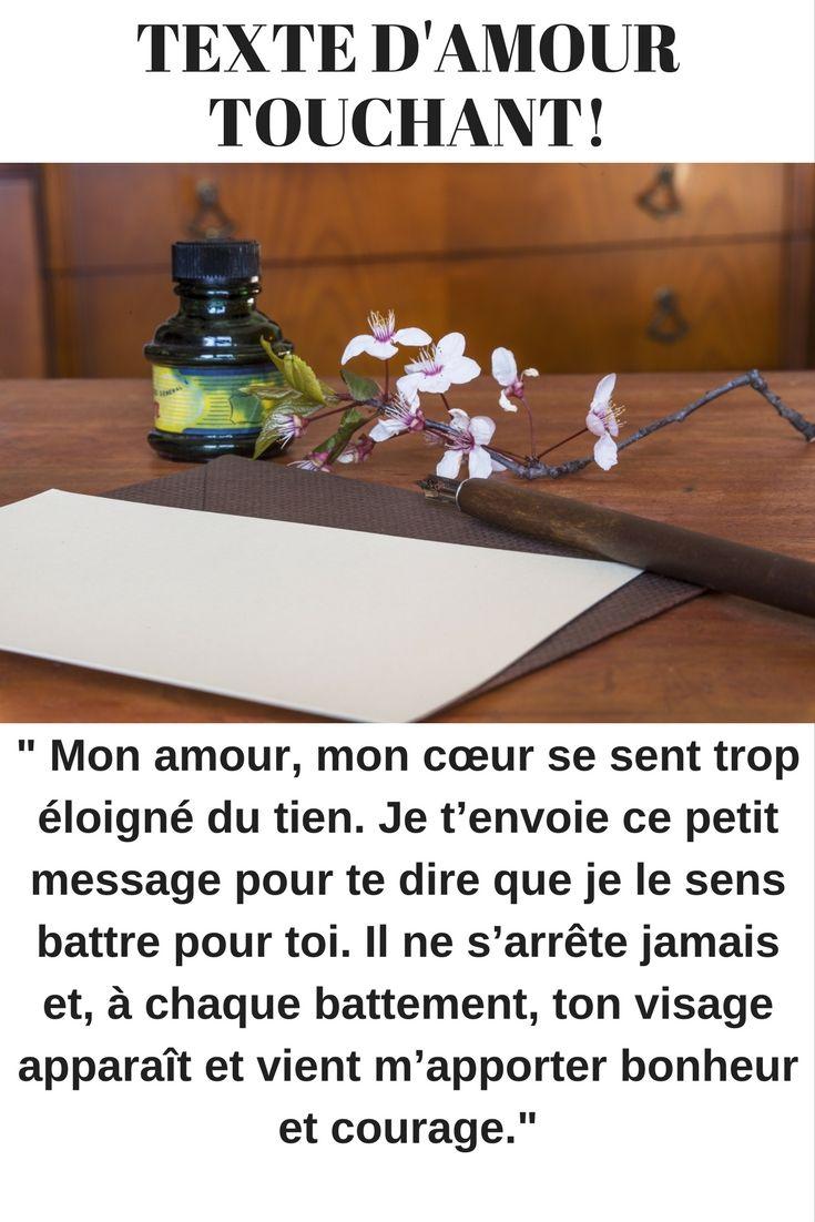 Message Damour Touchant King Prestans Texte Amour