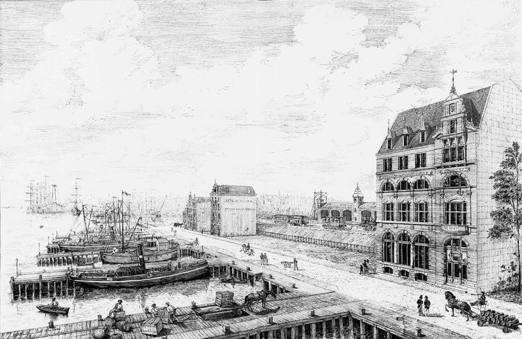 Volkskoffiehuis De Hoop Amsterdam cropped - Hendrik Petrus Berlage - Wikimedia Commons