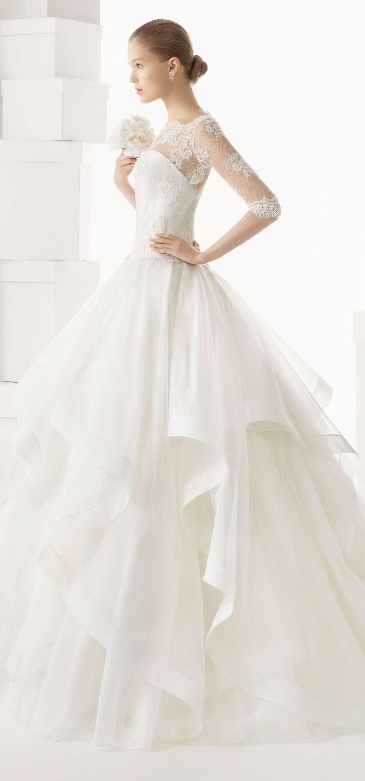 Rosa Clara 2014 Spring Bridal Collection http://www.shopprice.com.au/wedding+dress ATOS!
