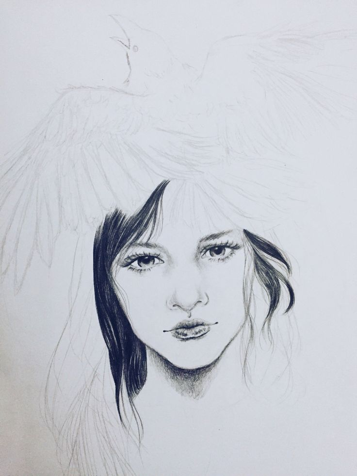 Raven Queen (wip) by ©mervyvalencia