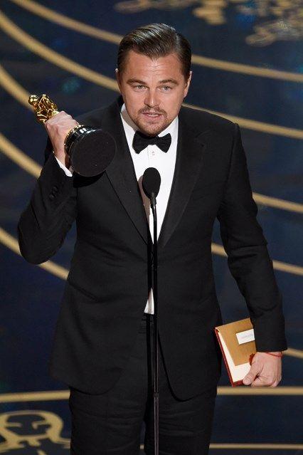 Leo's Surprising Oscars Speech