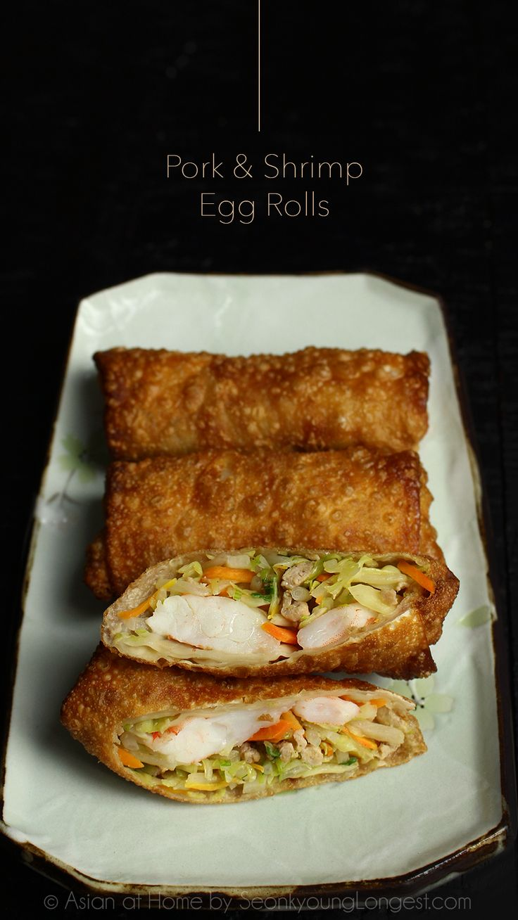 130 best seonkyoung longest recipes images on pinterest asian pork and shrimp egg rolls forumfinder Images