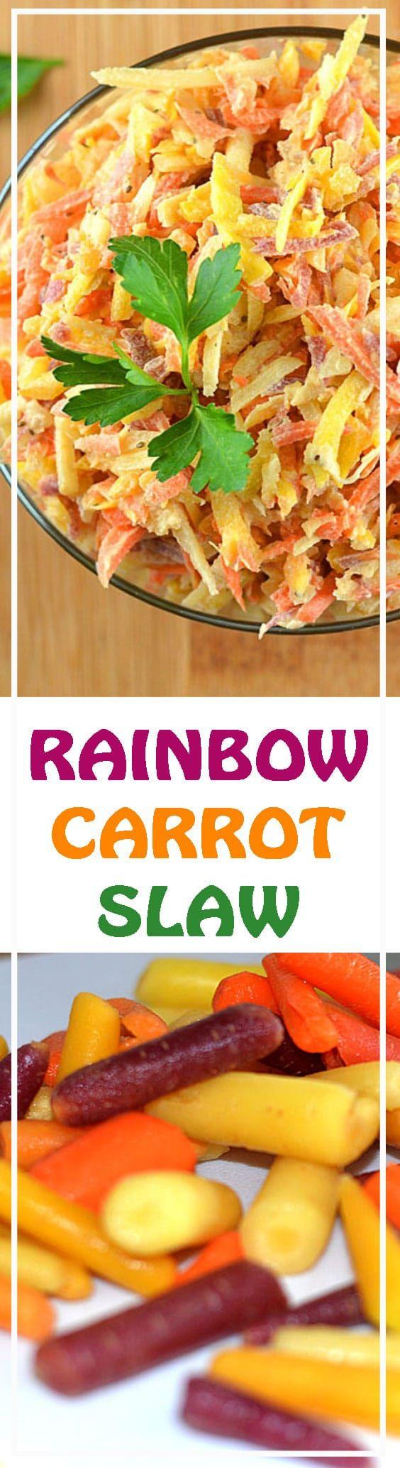 Vegan Carrot Slaw by The Veg Life!