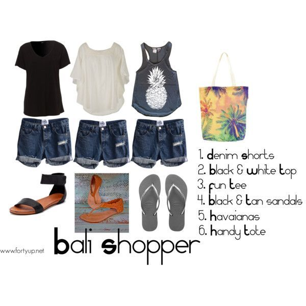 Packing for Bali - What to wear with Forty UP