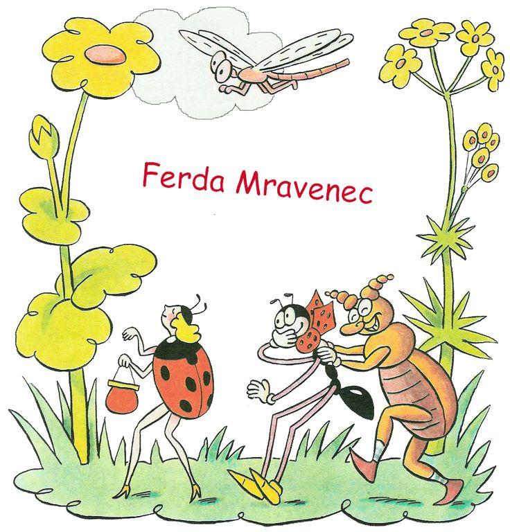 Ferda Mravenec - celá kniha