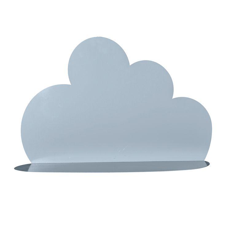 Cloud Hylla H40cm L60cm, Blå, Bloomingville
