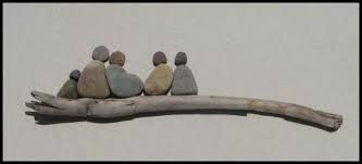 Image result for painting people on pebbles