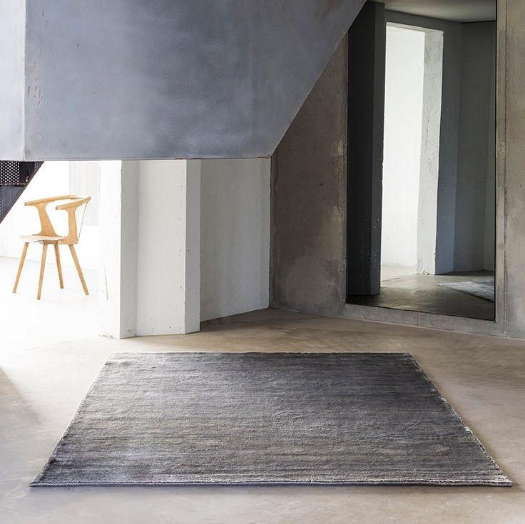 massimo bamboo rug grey